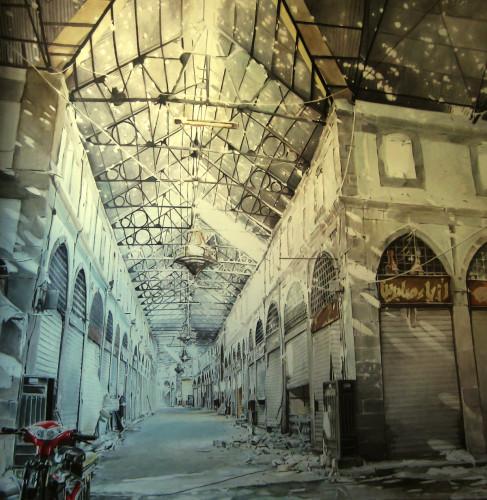 Escenarios Habitados. Cielo estrellado, Siria 2015.